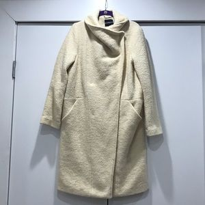Express wool coat - cream